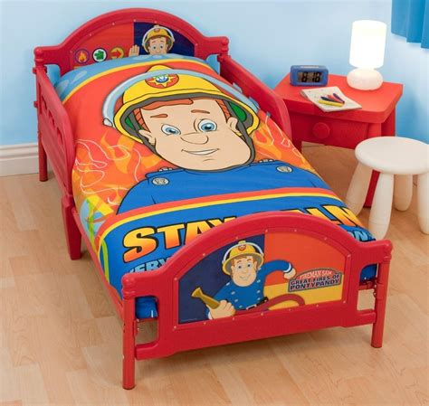 firefighter bed fireman bed