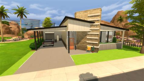 the sims 4 house building modern spring speed build designanddecorate the sims 4 house building mid