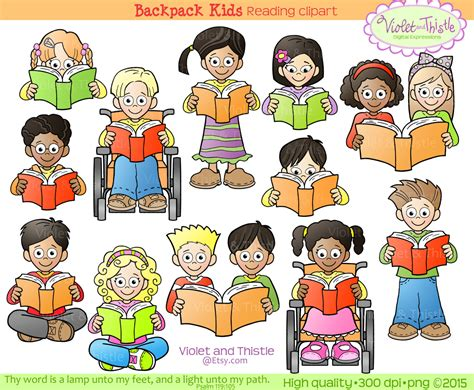 free childrens clipart clipart of children reading 101 clip