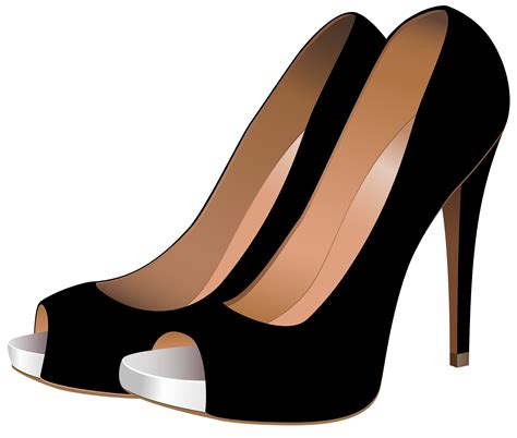 Transparant Shoes Box Penyimpanan Sepatu black high heels png clip best web clipart