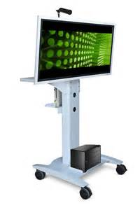 rolling lcd monitor stand afcindustries