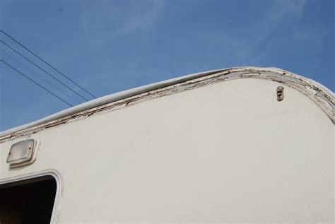 caravan awning rail repair swift challenger 470 2se 1989 rebuild caravan rebuild