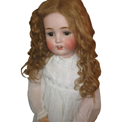 antique bisque german doll antique german bisque doll from dustytreasure90 on ruby