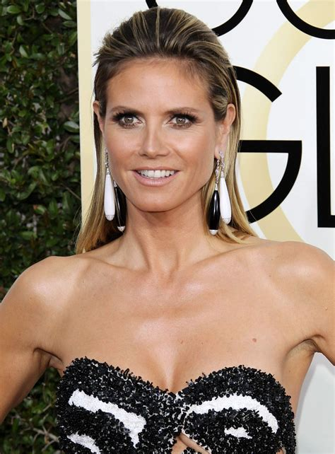 Heidi Klum by Heidi Klum At 74th Annual Golden Globe Awards In Beverly