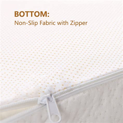 Mattress Topper Zippered Cover by 2 Quot Size Memory Foam Mattress Pad Bed Topper Zippered