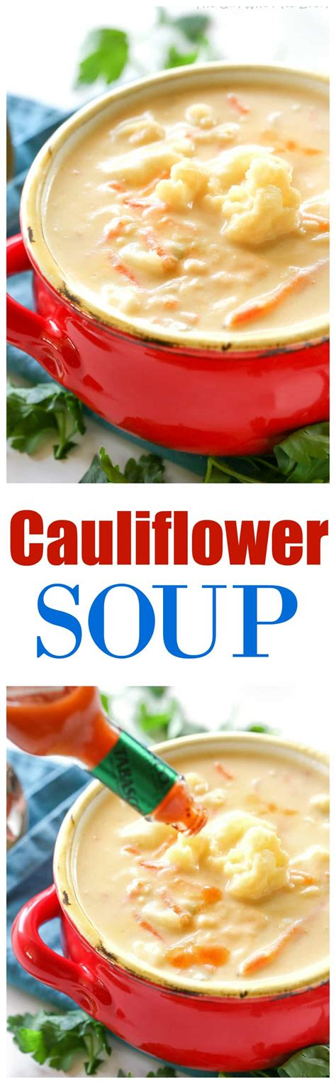 cauliflower soup the who ate everything