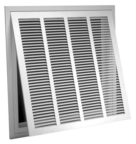 return air vent filter grille 673tpi r6 steel lanced return air filter grille 1 2