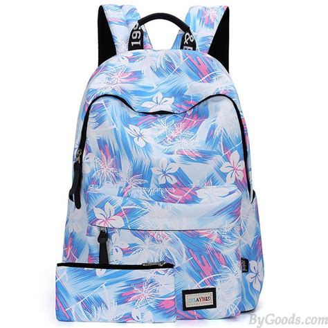 Canvas Flower Rucksack casual flower canvas rucksack floral abstract school