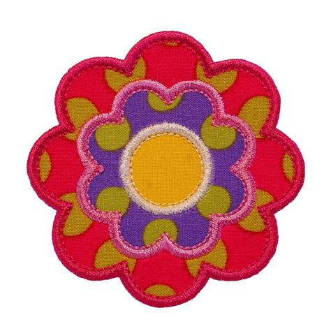 applique patterns flower power appliques machine embroidery designs applique