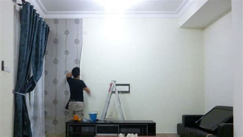 jasa pasang wallpaper  depok jakarta sekitarnya