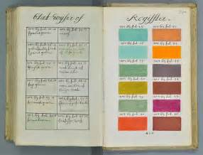 history of color 271 years before pantone an artist mixed and described