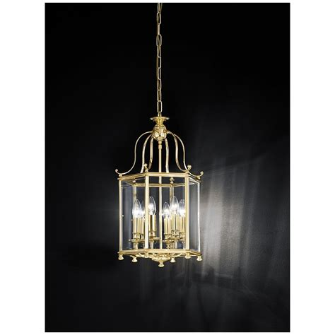Brass Ceiling Lantern by Franklite La7006 6 Montpelier Polished Brass 6 Light Ceiling Lantern Ideas4lighting Sku804i4l