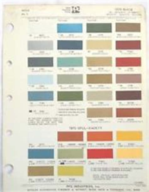 farbkarten color chart rootes 9 stk 1970 1983 glasurit ebay