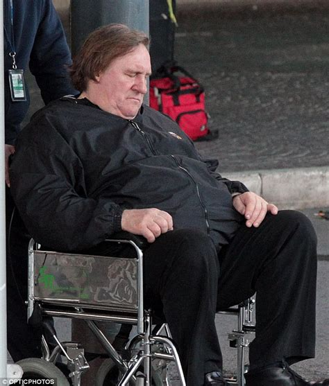 gerard depardieu wheelchair adieu france gerard depardieu lands in rome after