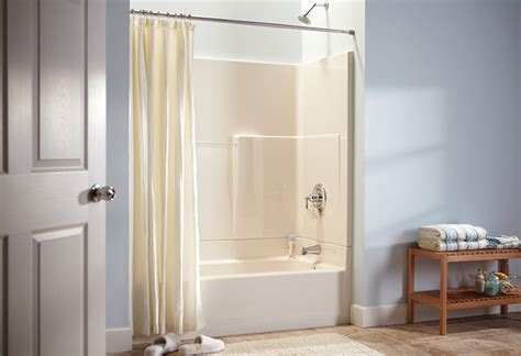 Installing Shower Surround by Install A Shower Surround For Your Bathroom At The Home Depot