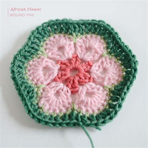 crochet pattern african flower african flowers africans and flower crochet on pinterest