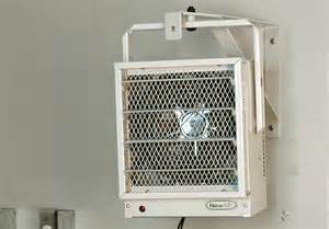 newair g73 electric garage heater safe and
