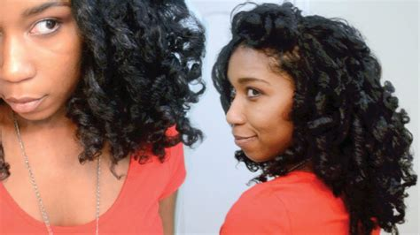 No Heat Curls For Black Hair