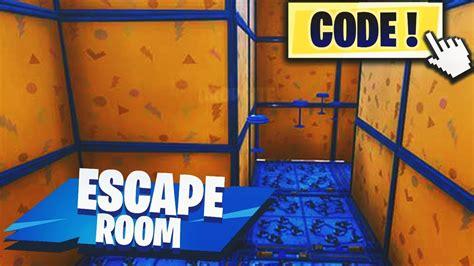 escape room  fortnite creative code  description