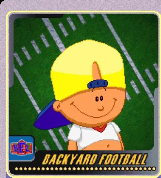 nfl backyard football backyard football kids who made the nfl the yarde