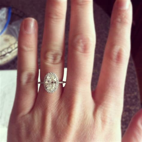 Wedding Rings Oval by Best 25 Oval Engagement Rings Ideas On Oval