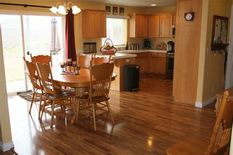 What Is The Best Flooring For A Kitchen by Laminate Tile Floors In Kitchens Flooring Pros And Cons