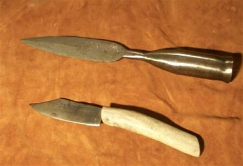 forging a pattern welded knife blacksmith forged pattern welded spear and knife