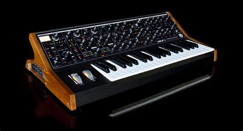 synth music moog music sub 37 duophonic synthesizer review by mike