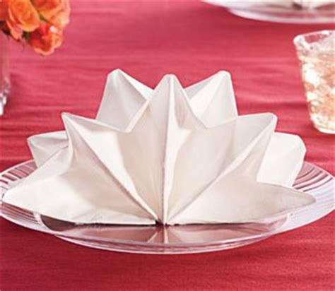 Ideas For Folding Paper Napkins - and easy entertaining ideas napkin folding