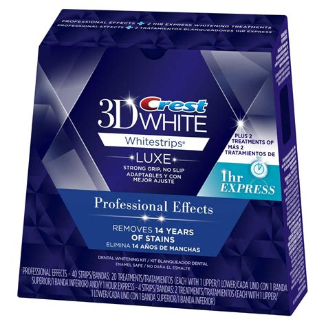 best whitestrips crest 3d luxe whitestrips professional effects teeth