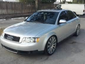2003 audi a4 3 0 quattro sedan in light silver metallic