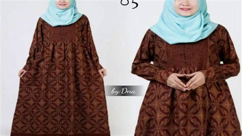 Dinar Batik by Dinar Batik Model Dress Batik Simple
