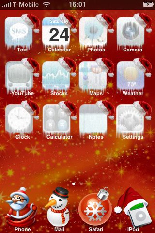 Christmas Themes Phone   25 free iphone themes for download real geek