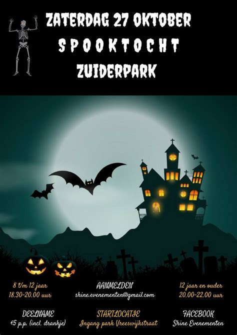 zuiderpark speelparadijs spooktocht zuiderpark zuiderpark den haag