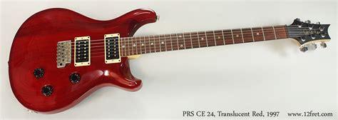 Unfinished Guitar Neck For Prs Replacement Parts 22 Fret Maple Fretboa 1997 prs ce 24 translucent