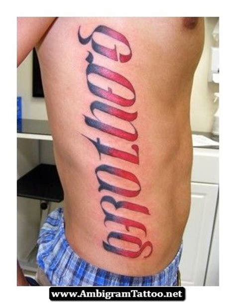 brothers ambigram tattoo design tattoo 79 best ambigram images on