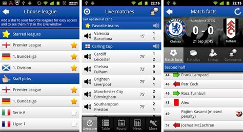 soccer 2012 highest score best android apps for soccer and football fans android