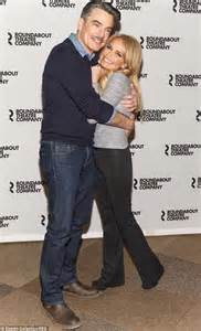 Kristin Chenoweth Cuddles Peter Gallagher For On The | kristin chenoweth cuddles peter gallagher for on the