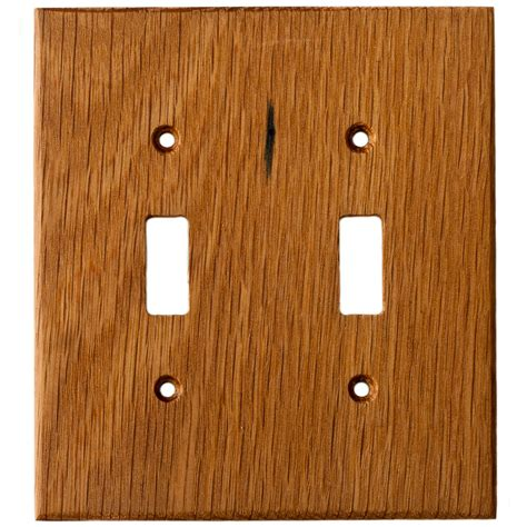 oak light switch covers oak reclaimed wood wall plates 2 gang light switch cover