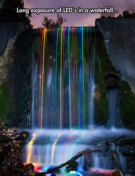 Tears Drop Is A Waterfall led waterfall