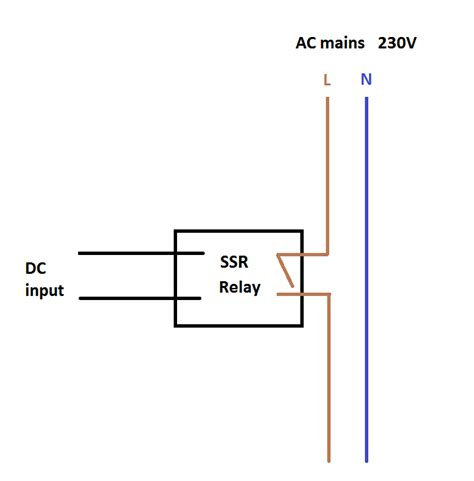 solid state diodes which diode configuration do i need for this solid state relay electrical engineering stack