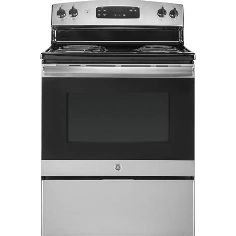 oven range hotpoint 5 0 cu ft electric range in black rb526dhbb