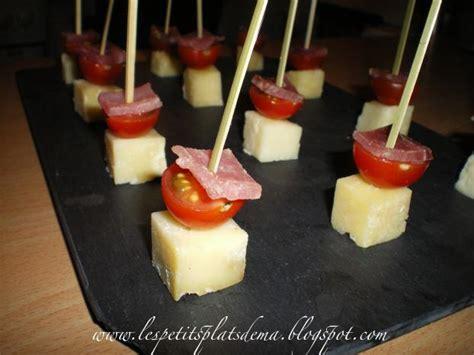 recette brochettes aperitifs de tomates  fromages
