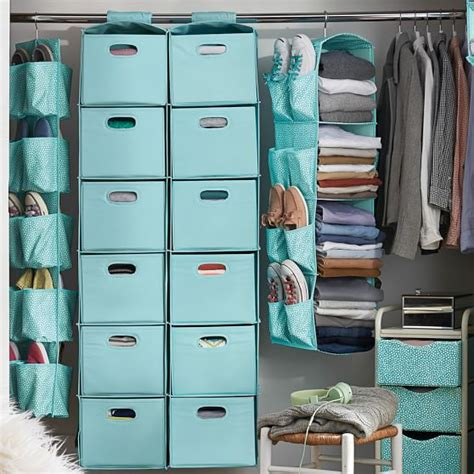 closet organizer hanging closet organizer pbteen