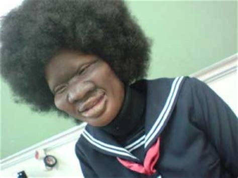 imagenes de negras chistosas alguna vez sin racismo han visto un japones negro