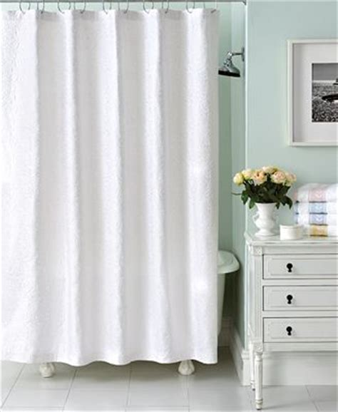 martha stewart shower curtains martha stewart collection trousseau matelasse shower