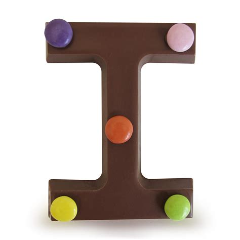 Letter Chocolate Milk Chocolate Letter I 163 5 00 Hamleys For Milk Chocolate Letter I Toys And