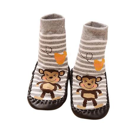 slipper socks toddler all season use monkey toddler baby anti slip