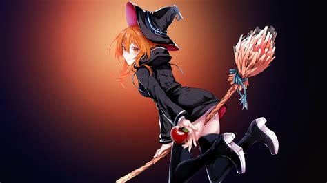 wallpaper anime 4k 4k uhd anime wallpaper magic girl by assassinwarrior