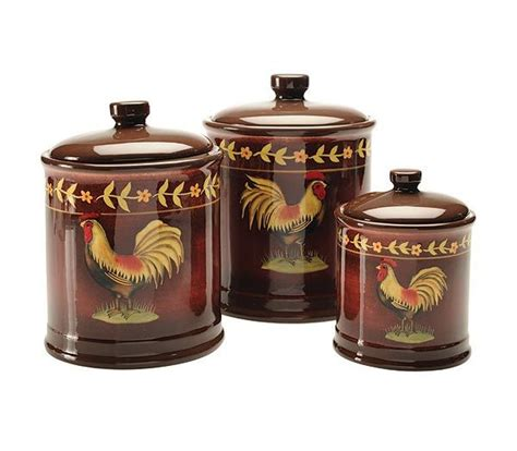 rooster kitchen canisters 324 best images about canister and canister sets on